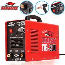 HAWK TOOLS PROFESSIONAL 200 AMP 230V INVERTER TIG WELD WELDING WELDER MACHINE