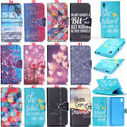 Finger Magnet Buckle Wallet Leather Flip Case Cover Slot For Sony Xperia M4 Aqua