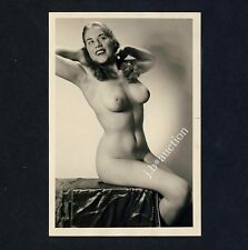 #244 RÖSSLER AKTFOTO / NUDE WOMAN STUDY * Vintage 1950s Studio Photo - no PC !
