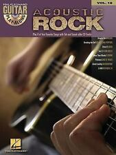 Acoustic Rock: Guitar Play-Along Volume 18