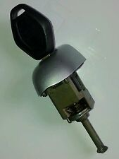 BMW E46 Coupe/Compact/Cab drivers door lock barrel with key, 2001 - 2006  Silver