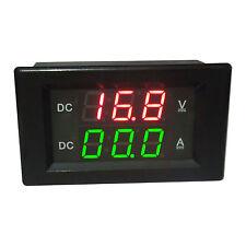 DC 0-300V 20A Digital LED Voltmeter Amperemeter Spannungsmeter Ammeter Shunt 12V