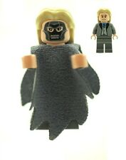 LEGO Harry Potter Minifig Lucius Malfoy Death Eater RARE NEW