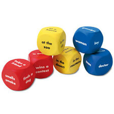 Learning Resources - Soft Foam Story Starter Word Cubes (set of 6)