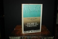 The Book of Laughter and Forgetting by Milan Kundera 1980 1st US ED HC