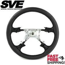SVE Mustang FR500 Style Steering Wheel - Black (94-98)