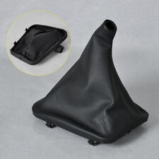 Black PU Leather Gear Shift Boot Gaiter Cover For Mercedes Benz W123 W126