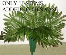 25 SILK PALM FERN  LEAF STEMS  WHOLESALE,CHRISTMAS ,WEDDINGS,FREE SHIPPING