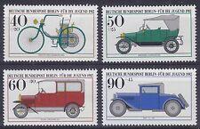Germany (Berlin) 1982 Youth Welfare Fund (Motor Cars) Set UM SGB632-5 Cat £5.00