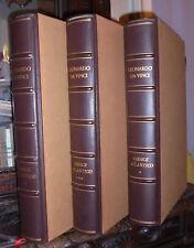 CODICE ATLANTICO. 3 voll. Leonardo da Vinci. Edizioni d'Arte. De Stefanis. 1981