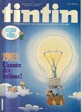 TINTIN n°396 interview roger pierre 1983 annee ballons