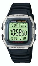 Casio Mens Water resistant Resin Sports Digital Watch, Grey, W-96H-1AVES