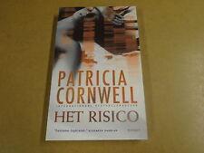 BOEK / PATRICIA CORNWELL - HET RISICO