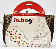 In-Bag Ultimate Purse Organizer Pockets Removable Expandable Leopard New