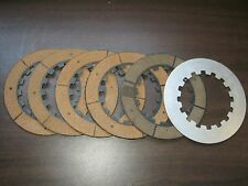 NORTON FRICTION CLUTCH PLATES SET OF 6 COMMANDO 850 1959 AND LATER AHRMA NOS