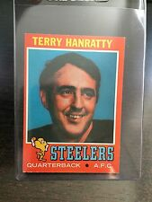 1971 TOPPS #30 TERRY HANRATTY, #132 ANDY RUSSELL *STEELERS* 3 CARD LOT! KRF-8165