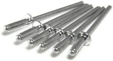 """All Aluminum POP Rivet - 4-8, 1/8"""" x 1/2"""" Gap (0.376 - 0.500) Qty-100"""