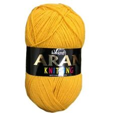 Aran Knitting Yarn Woolcraft 400g over 20 Shades Available - £2.99 Max Postage