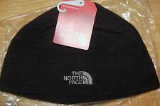 north face mens womens standard issue beanie fleece black sml / medium flashdry
