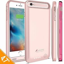 iPhone 6/6s battery case 3100mAh MFi Certified Ultra-Slim Removable 150% charge