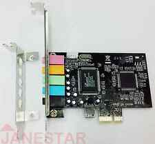 PCI Express x1 PCI-E 5.1ch 6channels CMI8738 chipset Audio Digital Sound Card