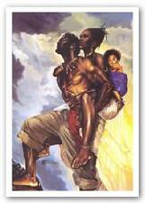 AFRICAN AMERICAN ART PRINT As One Kevin Williams WAK