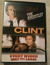 The Gauntlet / Every Which Way But Loose  (2 x film set) Brand new not sealed.