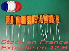 330uF 25V condensateur capacitor X10  125°C