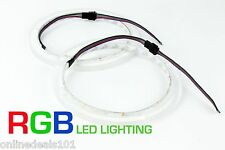 2pc LED Speaker Rings for Rockford Fosgate Marine M262 and M262B Drilled New RGB