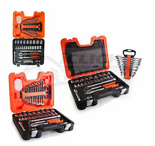 Bahco S400 Socket Set and Spanner Set of Metric 1/2in Drive 40 Pieces BAHS400