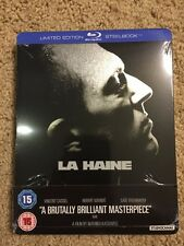 La Haine (Blu Ray Steelbook Brand New UK Region  B)