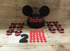 Fondant Mickey Mouse Inspired Cake Topper