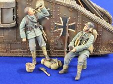 Verlinden 1/35 German Trench Raiders Resting and Drinking WWI (2 Figures) 2814