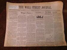Wall Street Journal Monday July 27 1987
