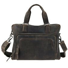 Souled Out // SVA3000 Leather // Satchel Case Bag 15x12 // Laptop / Table NEW!!!