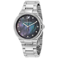 Swarovski City Grey Mother of Pearl Dial Ladies Watch 5205990