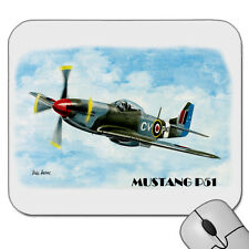MUSTANG P51   WORLD WAR II  FIGHTER PLANE    MOUSE PAD   MOUSE MAT