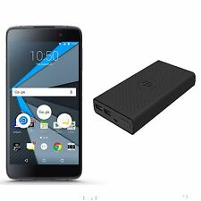 Blackberry DTEK50 Unlocked GSM 4G LTE Android Black Phone w/ Power Bank - New