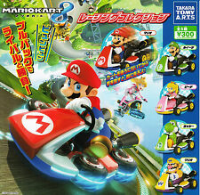 Mario Kart Gashapon Racing Car Collection Pull Back Car Complete Set (5)