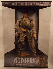 "Marvel Studios - 12"" Collector's Edition Camoflague Wolverine ToyBiz (MISB)"