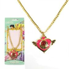 Sailor Moon Pretty Soldier anime HEART Cosplay Necklace