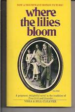WHERE THE LILIES BLOOM ~ SCHOLASTIC 1974 2ND VERA & BILL CLEAVER MOVIE TIE-IN