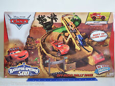Disney PIXAR Cars Radiator Springs 500 OFF-ROAD RALLY RACE Track Set - Ages 4+