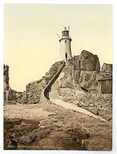 JERSEY CORBIERE FARO III Channel Islands A4 FOTO STAMPA