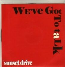 (BR694) Sunset Drive, We're Got To Talk - DJ CD
