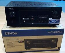 DENON AVR-X2200W 7.2 4K AV Network Receiver Amplifier  Wi-Fi BLACK  REF#571