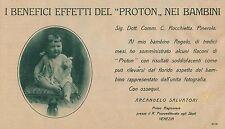 J0928 PROTON - Battistini Ricciardi Fosca - Firenze - Pubblicità - 1927 Old ad
