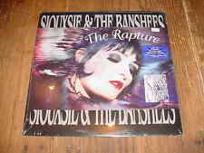 SIOUXSIE & THE BANSHEES THE RAPTURE LP RECORD FLUORESCENT VINYL STILL SEALED