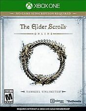 Microsoft Xbox One Elder Scrolls Online Tamriel Unlimited Video Game Brand New