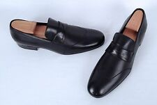 NEW!! Giorgio Armani Wingtip Loafer- Black Calf- Size 8 US/ 7 UK  $980  (C35)